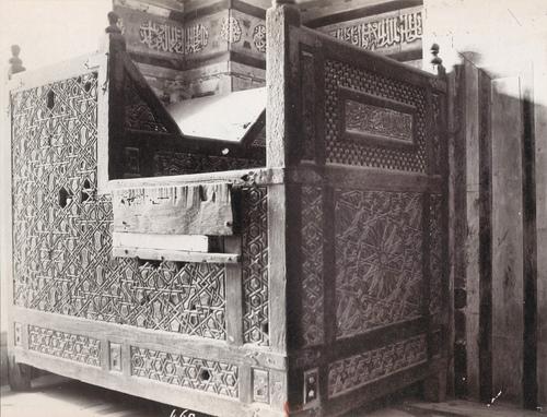 Kursi du mausolée de Qaytbay dans le cimetière nord