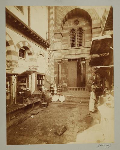 Entrée de la madrasa al-Nasir Muhammad ibn Qalawun