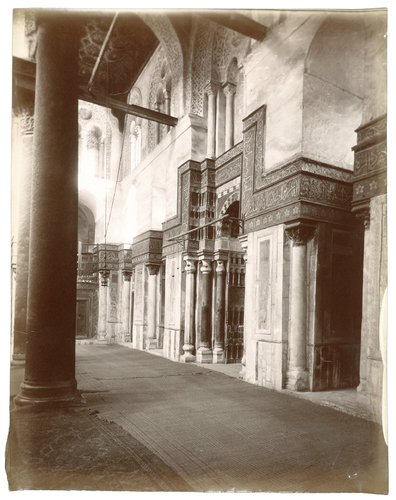 Mihrabdu mausolée du sultan Qalawun