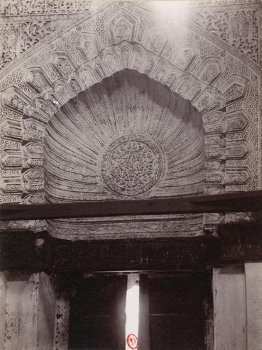 Niche du mausolée des califes abbassides