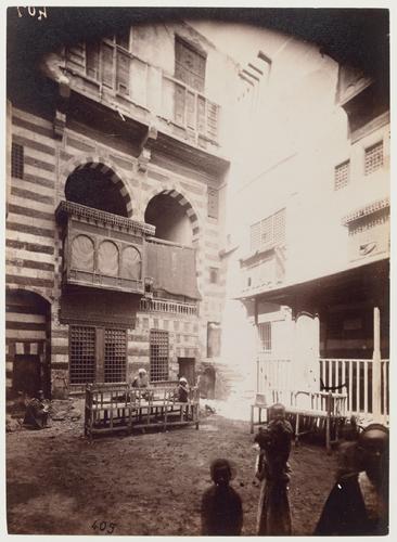 Cour de la maison shaykh Sayyim
