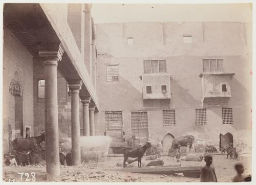 Maison près de la mosquée 'Abd al-Ghani al-Fakhri