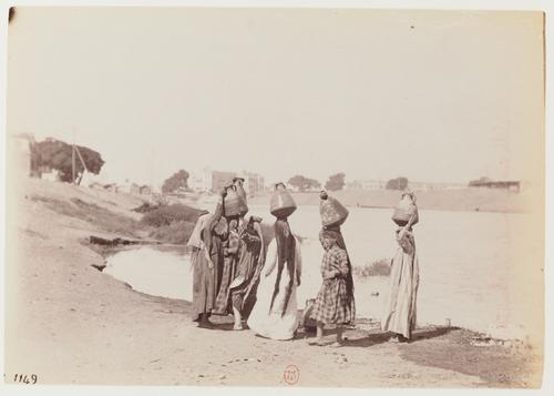 Sur le bord du canal Ismaïlieh