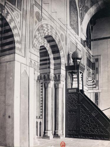 Mur de qibla de la mosquée Barquq