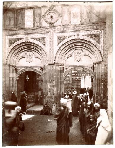 Porte de la mosquée al-Azhar