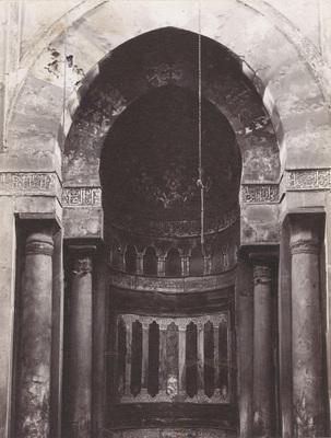 Mihrab de la madrasa al-sultan Hasan
