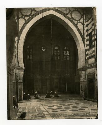 Salle de prière de la mosquée al-Gawri