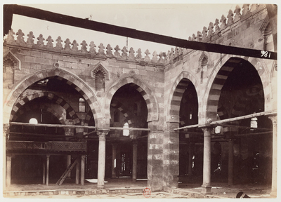 Cour intérieure de la mosquée al-Ashraf Barsbay (cimetière nord)
