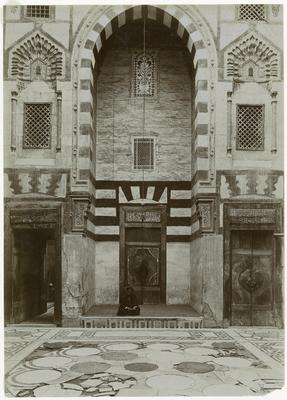Iwan sud du mausolée de Qaytbay