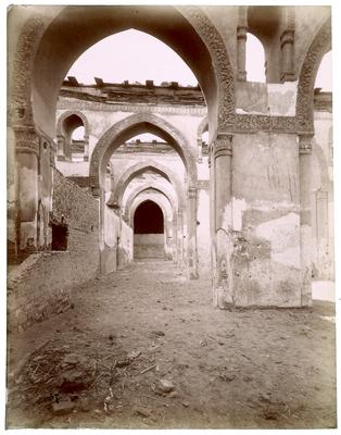 Salle de prière de la mosquée ibn Tulun