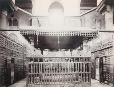 Intérieur du mausolée de Qalawun