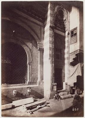 Façade latérale du sabil-kuttab 'Abd al-Rahman katkhuda