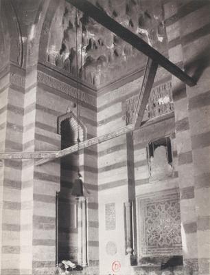 Vestibule de la mosquée al-sultan Hasan