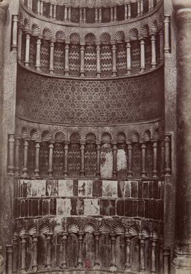 Mihrab du complexe de Qalawun, s.d., bibliothèque de l'INHA, Raccolta artistica..., 1887, f° 146.