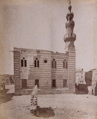 Vue extérieure de la mosquée Qaytbay