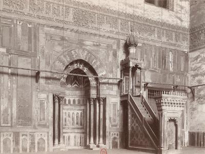 Mur de qibla de la mosquée al-sultan Hasan