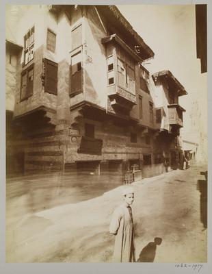 Vue perspective de la rue de la Citadelle