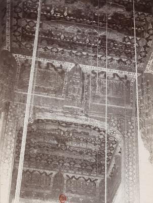 Plafond de la mosquée Qaytbay