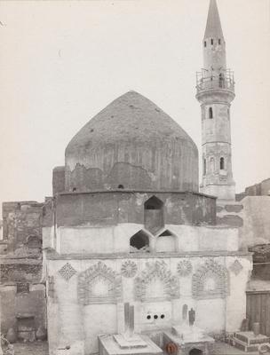 Vue extérieure du mausolée des califes abbassides