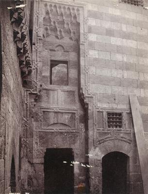Entrée d'une maison ancienne près la mosquée ibn Tulun