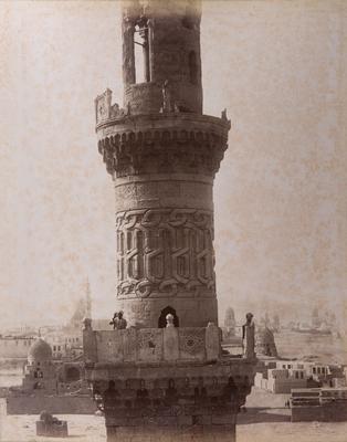 Minaret nord de la khanqah al-Nasir Faraj ibn Barquq