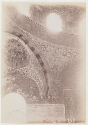 Intérieur de la coupole du mausolée al-Fadawiyya