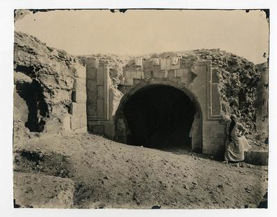 Entrée de la tour al-Zafar