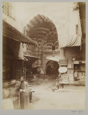 Porte al-Ghawri du Khan al-Khalili