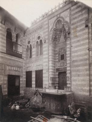 Porte monumentale du sabil-kuttab et mausolée d'al-Ghawri