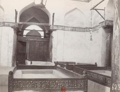 Vue intérieure du mausolée de Yahya al-Shabih