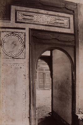 Intérieur du palais de al-Musafirkhana