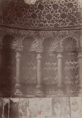 Détail du mihrab du complexe de Qalawun, s.d., bibliothèque de l'INHA, Raccolta artistica..., 1887, f° 142.