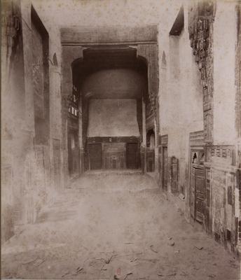 Intérieur de la maison Gamal al-Din al-Dhahabi