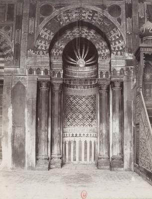 Mihrabde la mosquée Barquq