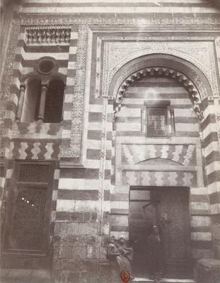 Portail de la madrasa Taibars, mosquée al-Azhar