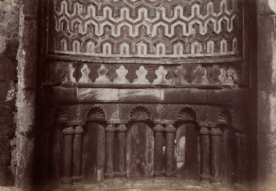 Détail du mihrab de la khanqah Baybars al-Gashankir