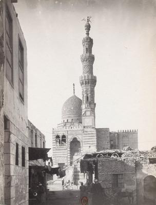 Vue extérieure du complexe funéraire du Sultan al-Ashraf Qâytbây