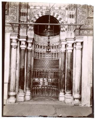 Mihrab dumausolée du sultan Qalawun